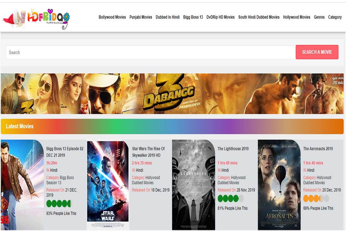 hdfriday download bollywood new movies