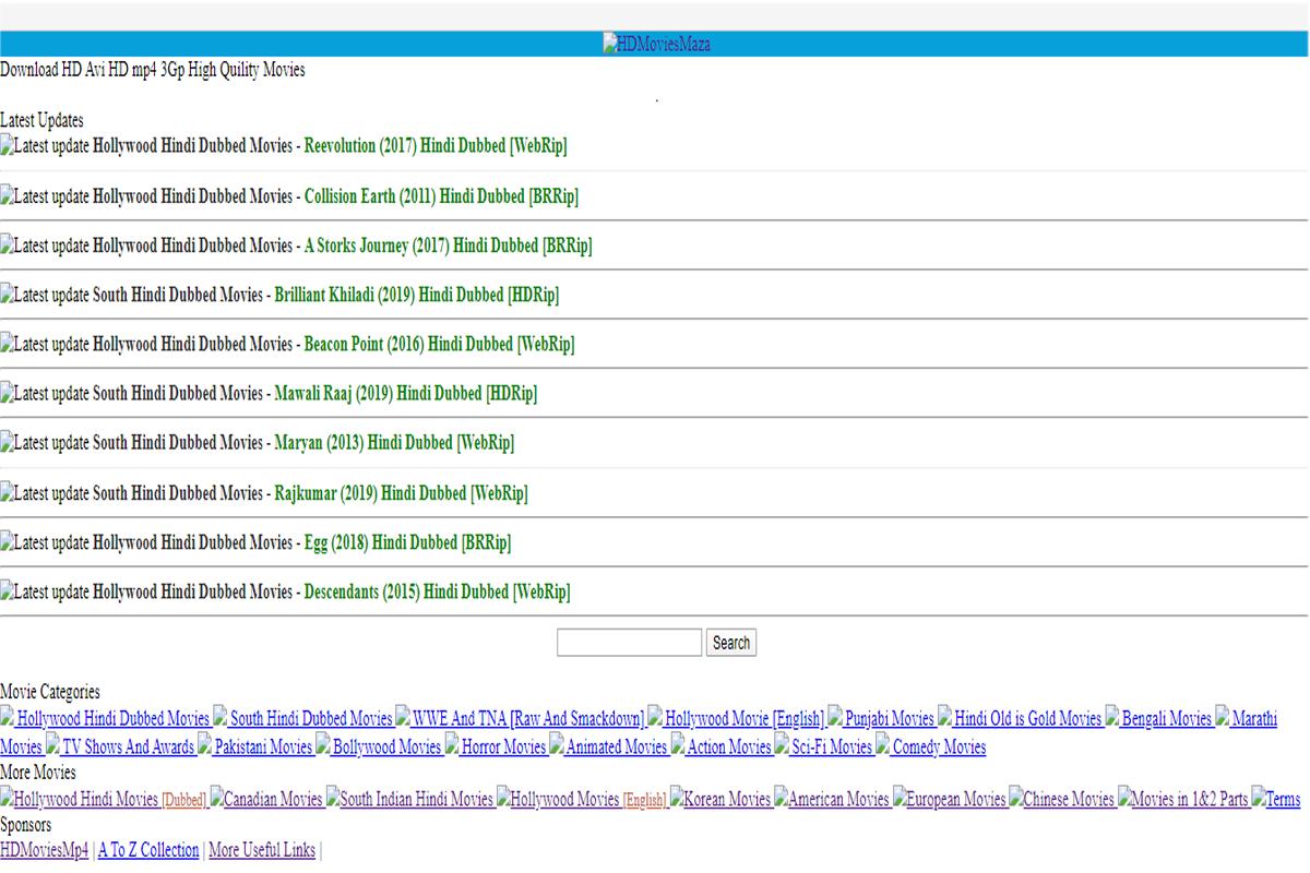 HDMoviesmaza Download Bollywood Movies Online