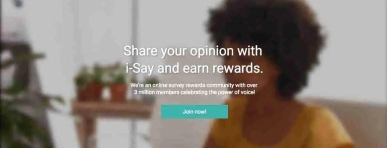IPOS I-Say - Siti di sondaggi affidabili per fare soldi extra