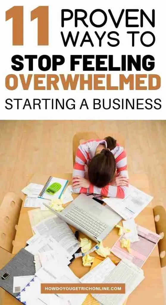 Useful Steps if You're Overwhelmed With Opening a Business