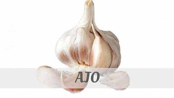 How To Say Ajo
