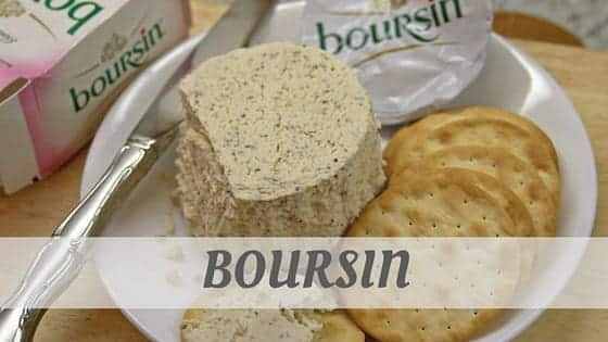 How To Say Boursin