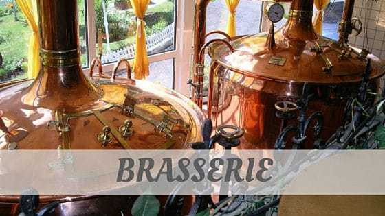 How To Say Brasserie
