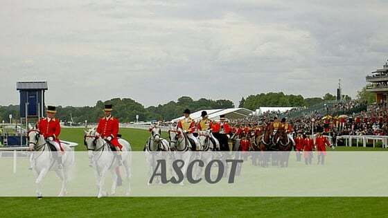 How To Say Ascot