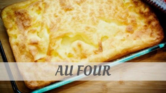 How To Say Au Four
