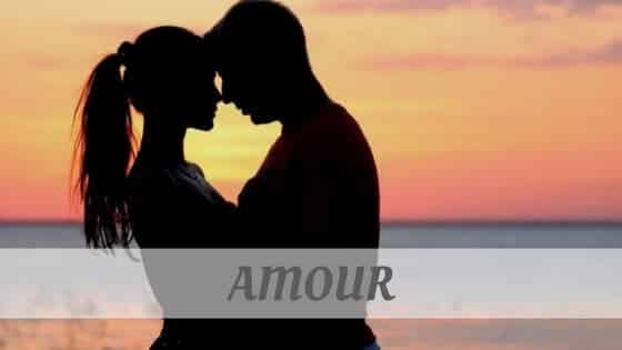 How To Say Amour