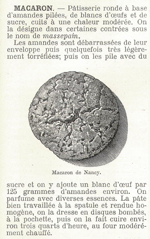 Old Macaron Recipe