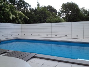 Pool Verkleidung Aluminium