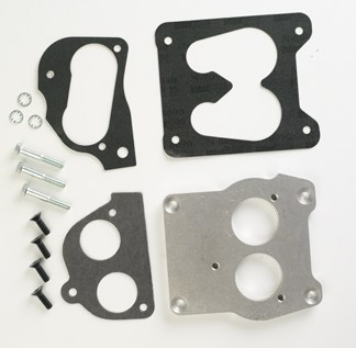 "#HBT2 - ADAPTER PLATE: Q-Jet Manifold to 2"" TBI"
