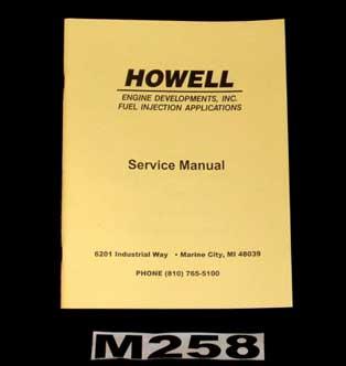 m258 tbi service manual howell efi conversion. Black Bedroom Furniture Sets. Home Design Ideas
