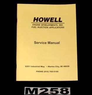 #M258 - TBI Service Manual