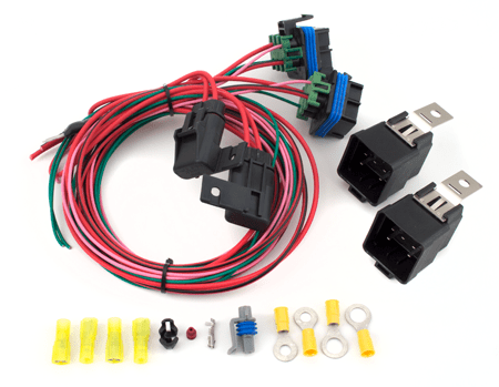 gm fan wiring df220 dual fan control kit howell efi conversion   wiring  df220 dual fan control kit howell