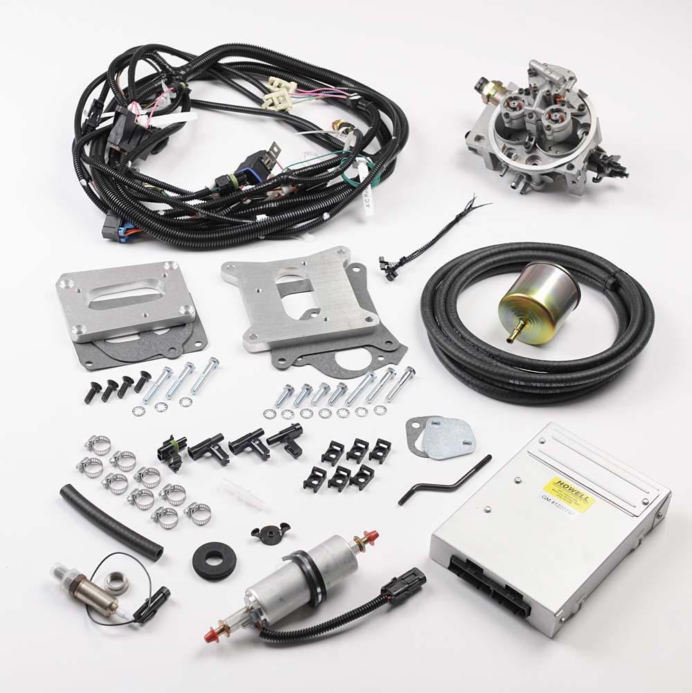 medium resolution of hc250 chevrolet 250 cid tbi conversion kit howell efi conversion gm hei distributor wiring diagram gm tbi wiring diagram