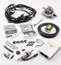 k247jpv8w401 tbi kit jeep wagoneer 401 howell efi conversion nitrous wiring harness howell fuel injection wiring harness [ 1000 x 1001 Pixel ]