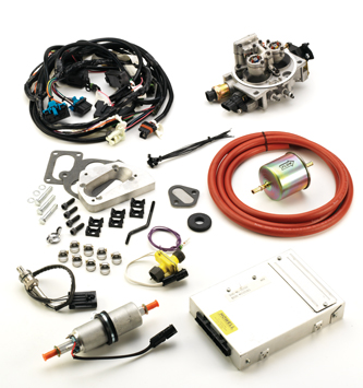 """the key is to study the schematic supplied with the kit and call our tech  line if there are any questions """" to learn more or to order contact howell  efi"""