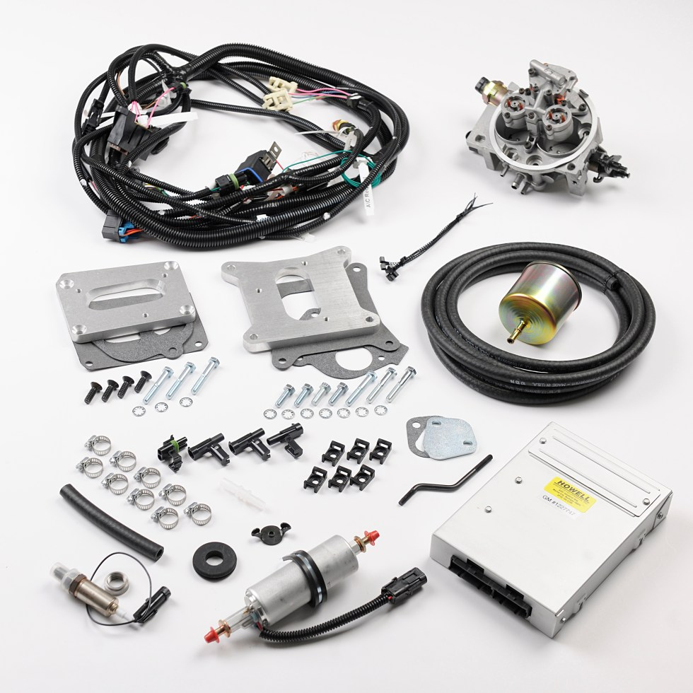 News Tech Howell Efi Conversion Wiring Harness Experts Wire Components To Learn More Or Order Your Kit Contact At Call 810 765 5100