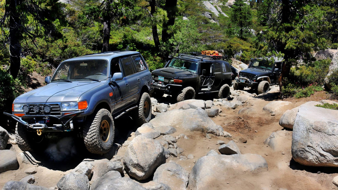 hight resolution of landcruisers nw rubicon