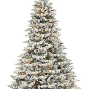 Christmas Trees-Flocked