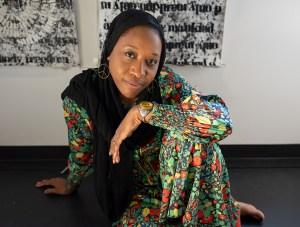 Portrait of Nsenga Knight at BRIC