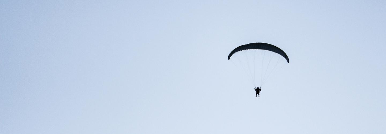 Minimalism Parachute