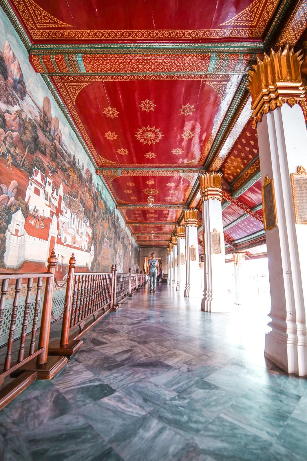 The Grand Palace in Bangkok Thailand @howfarfromhome