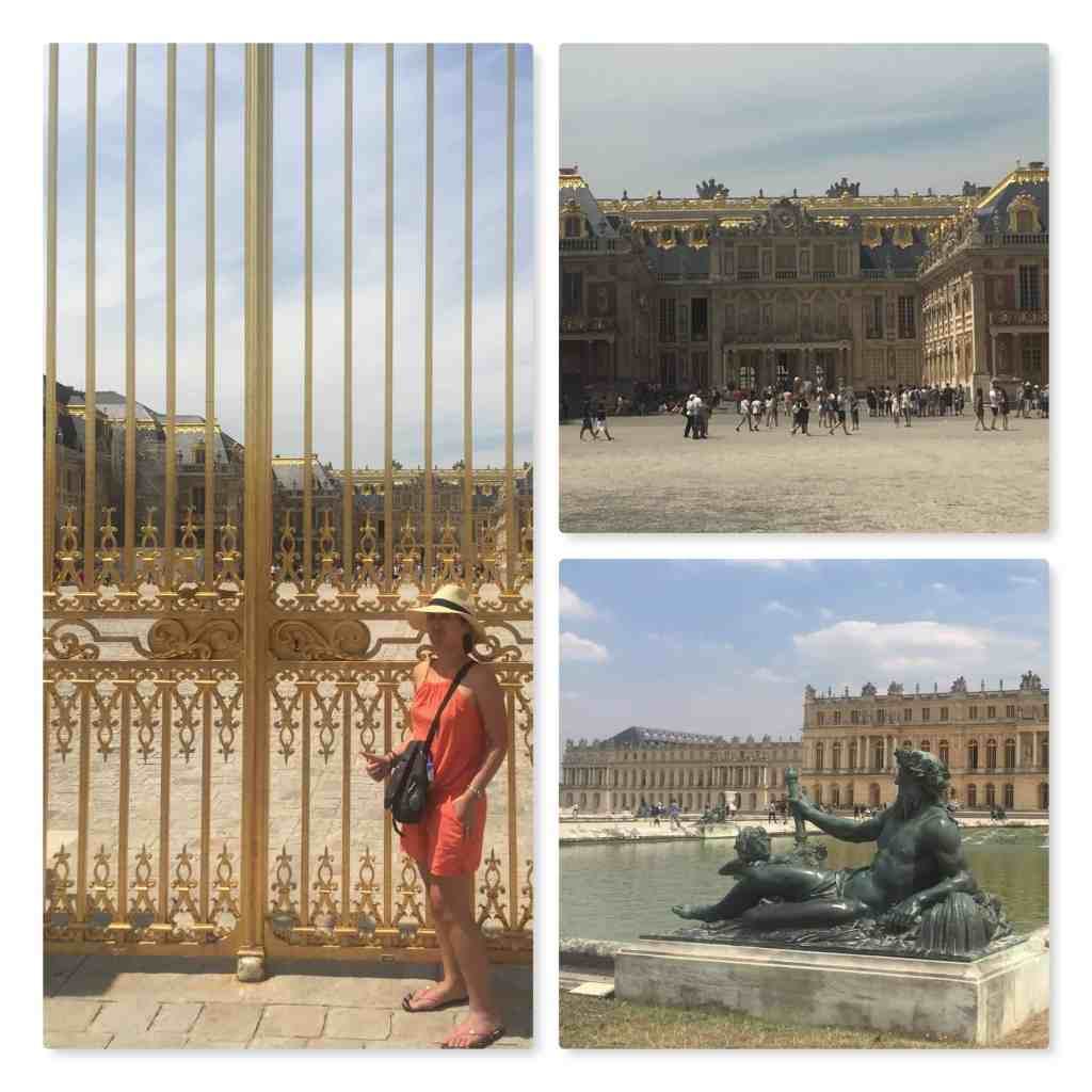 Palace of Versailles front gates