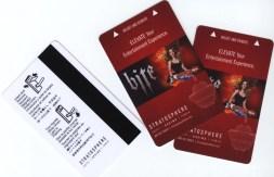 Karty do pokoju hotelowego w Stratosphere Hotel