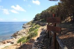 Kolejna piękna plaża… Cala Minnola
