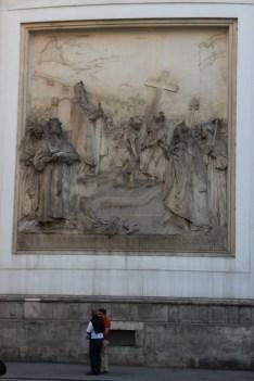 Peterkirche - boczna fasada