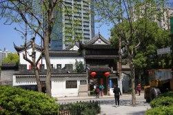 Wejście na teren murów miejskich i Świątyni Dajingguandi