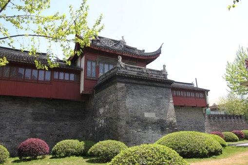Mury miejskie - jeden z najstarszych obiektów w Szanghaju