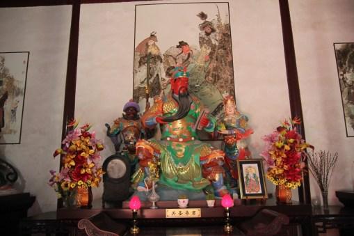 Główny bożek w Świątyni Dajingguandi