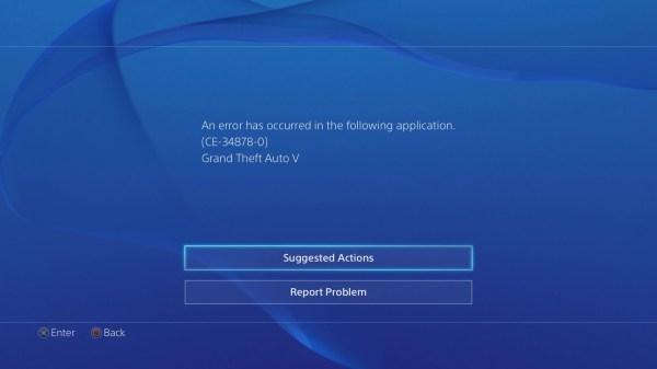 Gamer Ps4 Error Code - Year of Clean Water