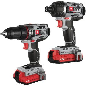 Porter Cable Drill-Impact duo