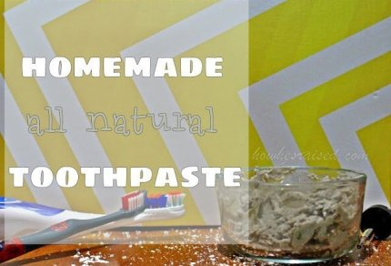 Homemade All-Natural Toothpaste