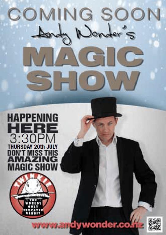 ANDY WONDER MAGIC SHOW - Howick Club