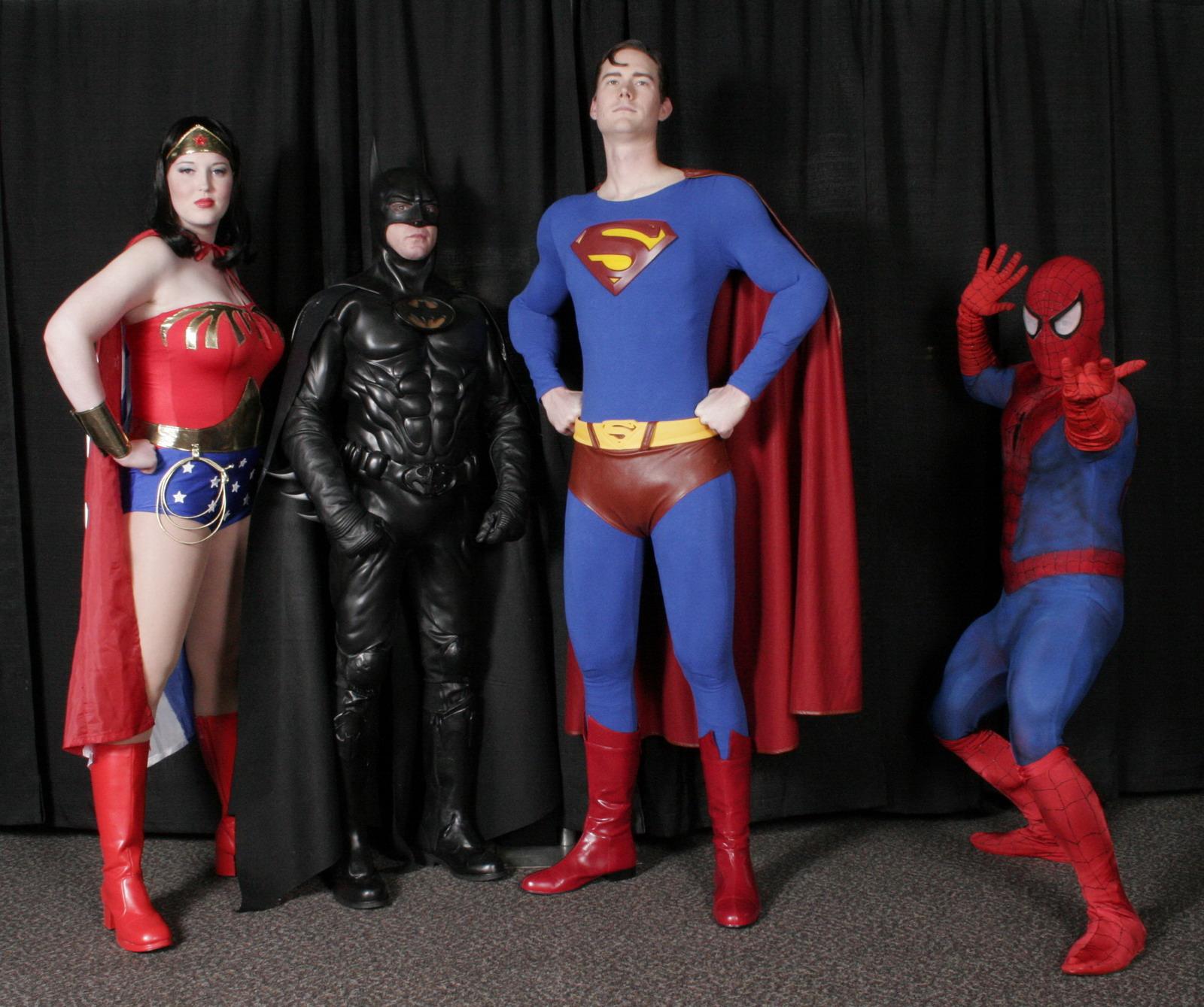 EPIC SUPER HERO PARTY