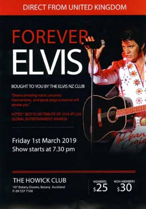 Forever Elvis March 2019