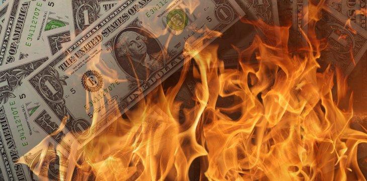 Inflation Destroys Dollars