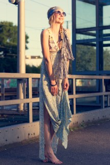 Hippie Chic Maxi Dresses Met Outfit