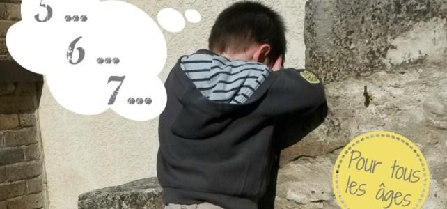 jouer à cache-cache avec ses enfants intérêt pédagogique
