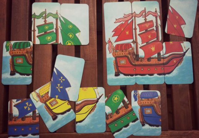 Cartes bateaux Piratatak règles du jeu