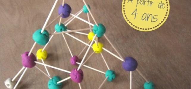 Pâte à modeler enfant + 4 ans idées activités