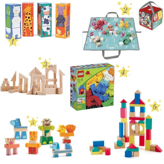 Idées cadeaux jeux de construction Noël anniversaire 2 ans