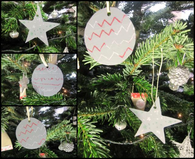 décoration Noël magique dans le sapin