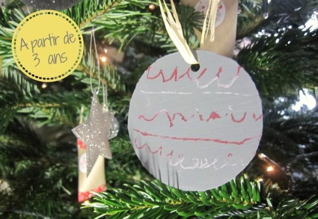 Décorations de Noël magiques carte à gratter