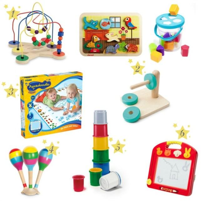 Selection cadeaux Noël jeux manipulation bébé