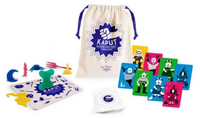 Découverte jeu Kaput les jouets libres