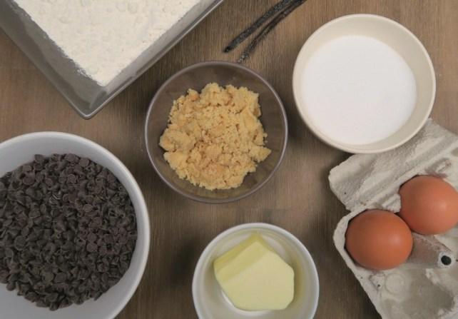 ingrédients recette cookies