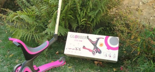 La trottinette 5 en 1 de Globber, la trottinette qui respecte l'évolution de votre enfant